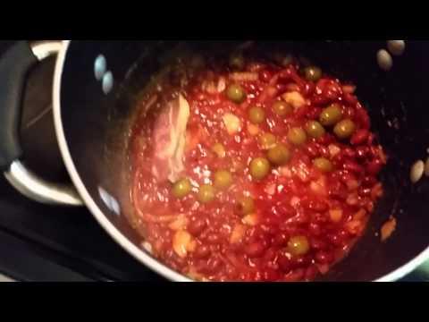 How to make Spanish chicken and rice