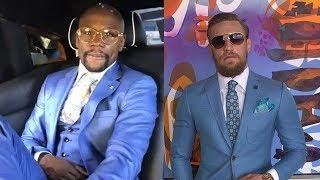Proof Floyd Mayweather Is Copying Conor McGregor