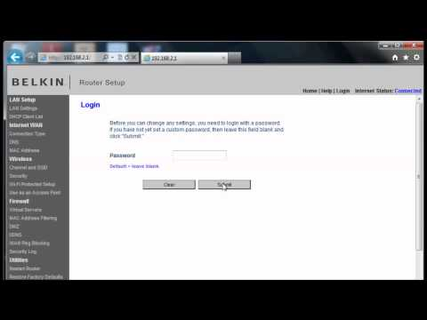 Networking Tutorial 4 of 4 - Set the Admin Password for the Router