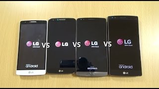 LG G4 VS LG G3 VS LG G2 VS LG G3S Beat Lollipop - Speed Test
