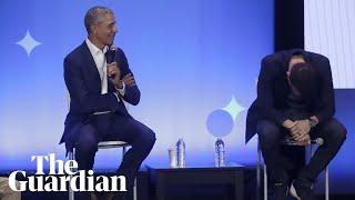 Obama on masculinity: 'You don't need eight women around you twerking'