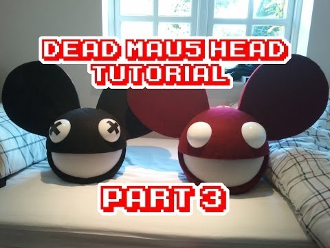 DeadMau5 head how to/tutorial part 3 WITH LIGHTS!