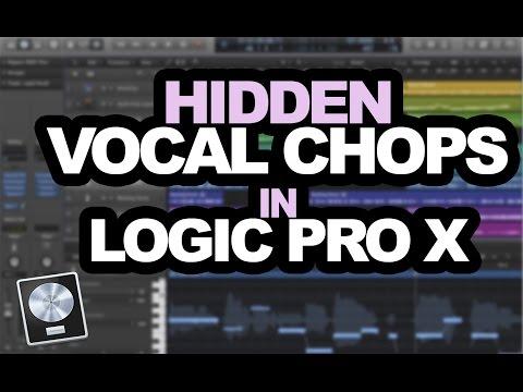 Secret Professional Vocal Chop Samples in Logic Pro X
