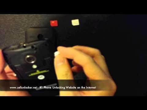 Unlock Moto G - How to Unlock Motorola Moto G XT1032 , XT1033, XT1034 Telus / Koodo