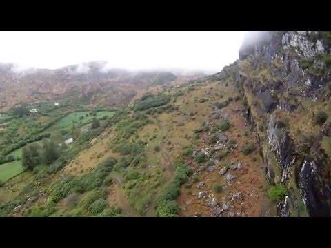 BASE jump Glengariff. (The Eagles Nest)