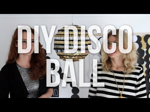 DIY Disco ball