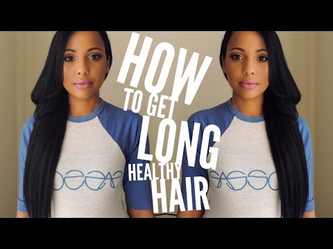 How to get Long Healthy Hair | Ashley Bond Beauty
