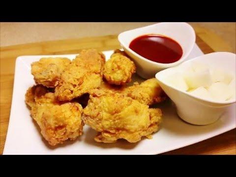 Crunchy Korean Fried Chicken - Gochujang Sauce Recipe