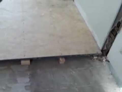 Floor leveling