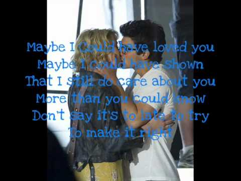 Joe Jonas - Make it right (Lyrics on screen)