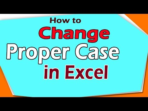 How to Change Proper Case in Excel | Excel add ins | Excel Software