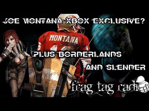 Is Joe Montana Xbox Exclusive? Plus Borderlands, Slender, Shiftlings, White Night Reviewed