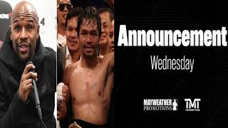 Download BREAKING NEWS: FLOYD MAYWEATHER TO ANNOUNCE FUTURE SHOWDOWN !! Video