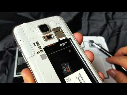 Galaxy S5: How to Insert & Remove Micro SD Card