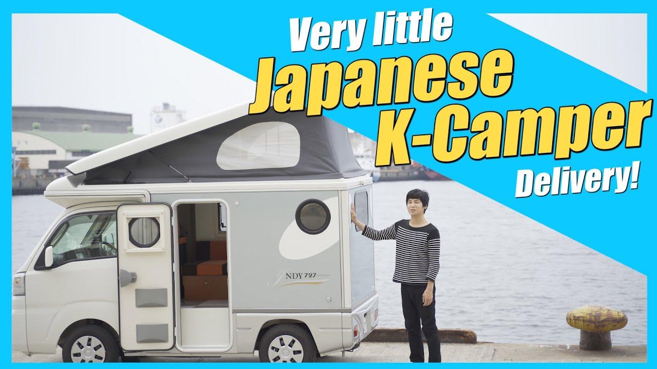 【MICRO CAMPER】I bought a very small camper (K-camper) in Japan