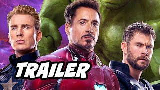 Download Avengers Endgame Trailer 2 - Captain Marvel and Time Travel Scene Easter Eggs Breakdown Video