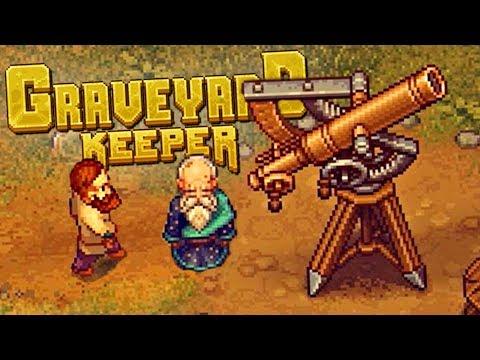 FIXING DEAD BODIES AND FINDING THE MYSTERIOUS ASTROLOGER - Graveyard Keeper Gameplay