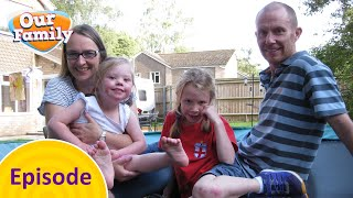 Charlotte and Zoe's Assault Course   Our Family FULL EPISODE