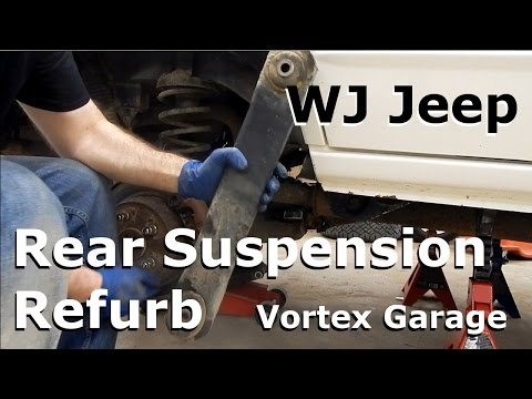 Jeep WJ Maintenance - Part 1: Rear Lower and Upper Control Arms - Vortex Garage Ep. 3
