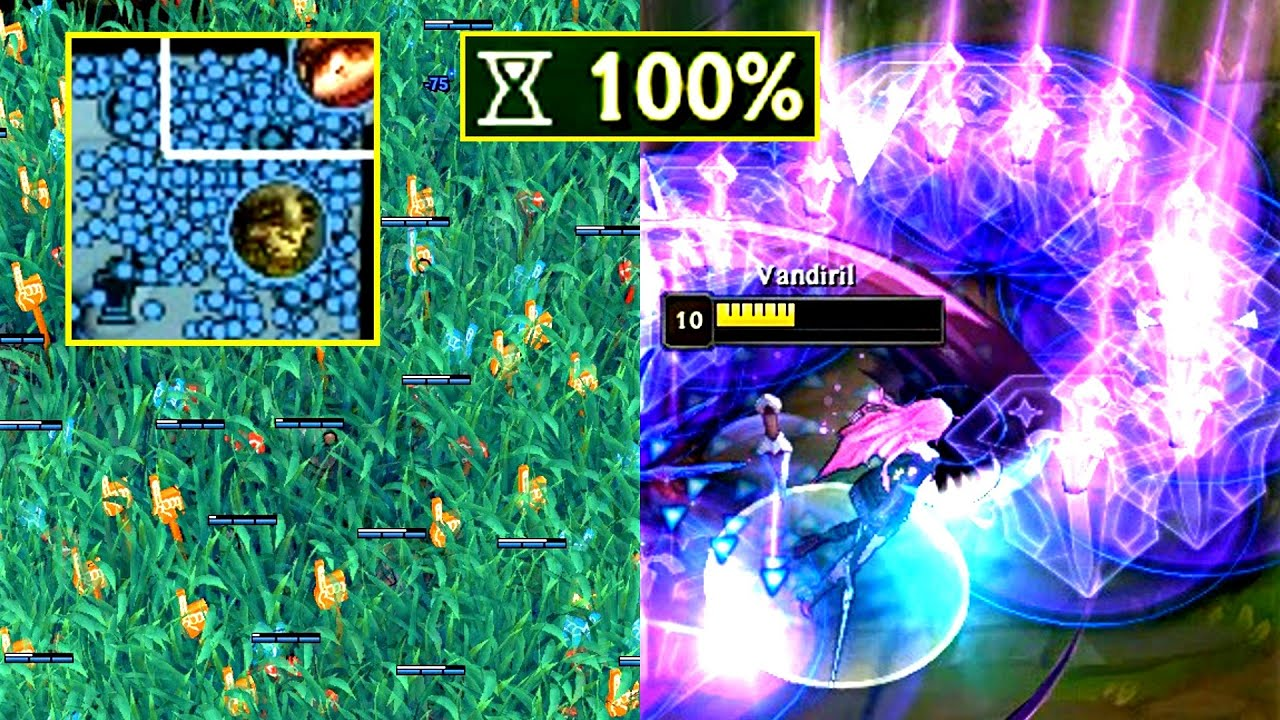League of 100% CDR!