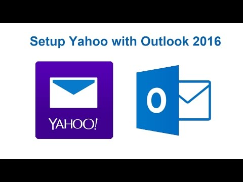 How to setup Yahoo with Outlook 2016