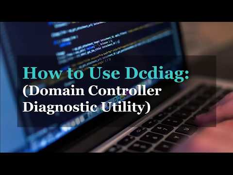 DCDiag How to check Domain Controller Health