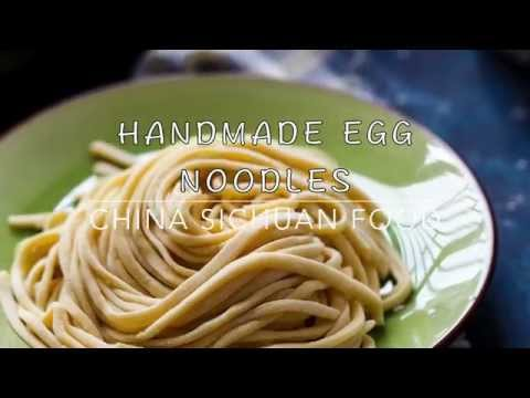 Chinese Egg Noodles 鸡蛋面