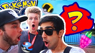 SNORLAX?! - POKEMON GO in Germany with Lachlan & Ali-A