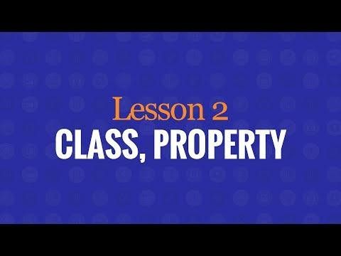 Class, Property, Object, Method