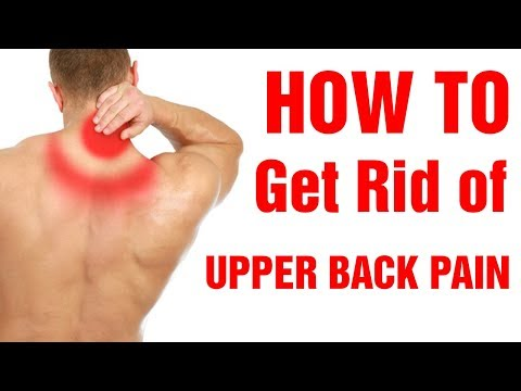 Top 8 Tips|How to Relieve Upper Back Pain|Get rid of upper back pain