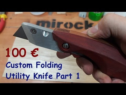 Homemade Folding Utility Knife Part 1