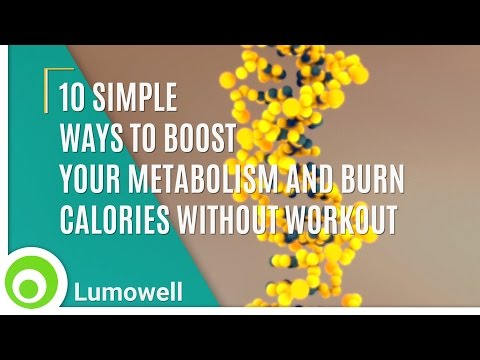 How to lose weight without Exercise? Boost Your Metabolism and Burn Calories without Workout