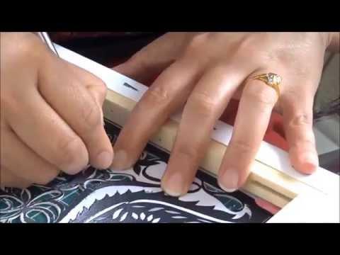 papercut canvas