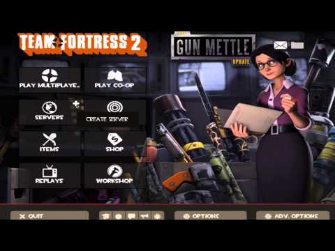 TF2-How to download and play tr_walkway_rc2 MAC/PC (2016