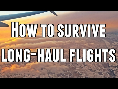 HOW TO SURVIVE LONG-HAUL FLIGHTS ✈️️ California - Thailand 16 hour flight!