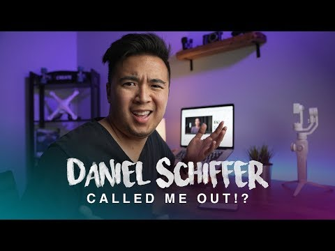 Daniel Schiffer Called Me Out...