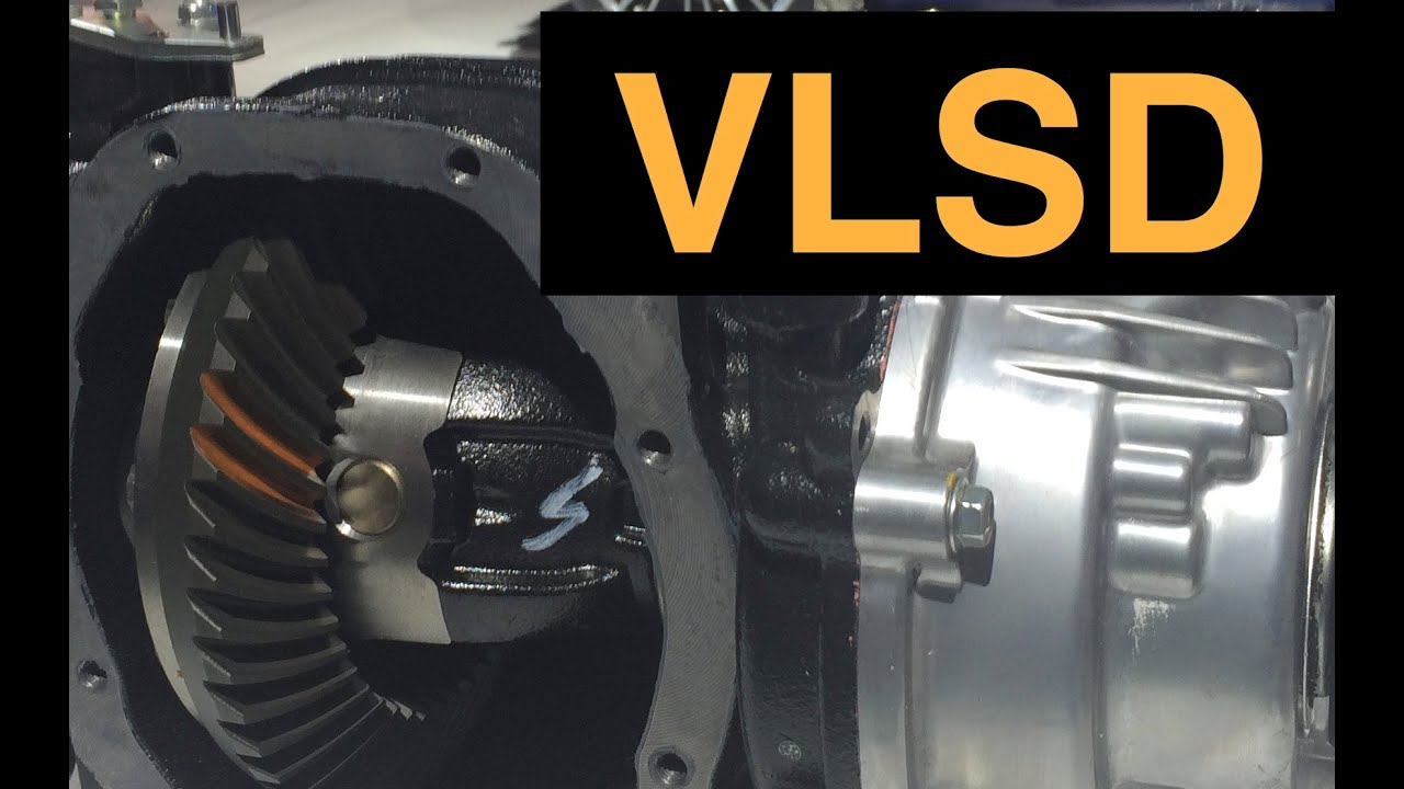 Viscous Limited Slip Differential - Explained