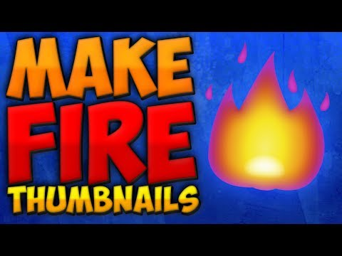 How To Make Thumbnails With Photoshop 2017 (*EASY*)