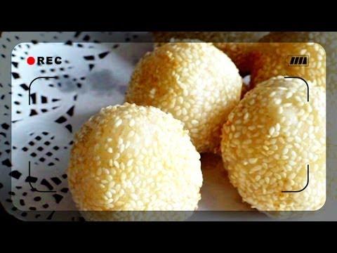 煎堆 Sesame Balls (Jin deui) - JosephineRecipes.co.uk