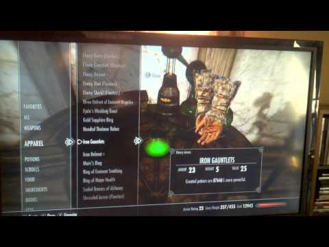Skyrim xbox level 81 in thirty minutes