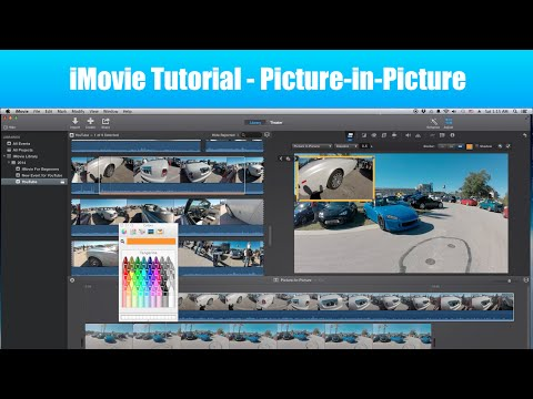 iMovie Tutorial -  How to do Picture in Picture