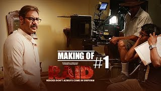 Making of Raid | Ajay Devgn | Ileana D