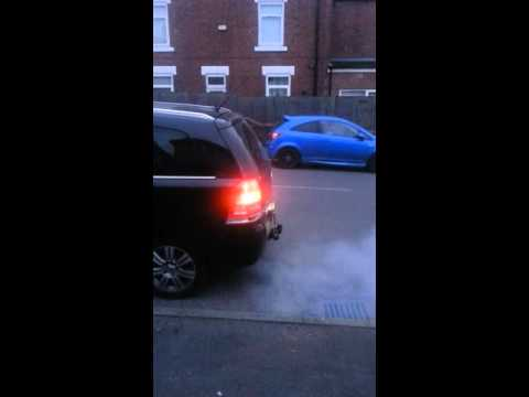Vauxhall Zafira B 1.9CDTi MKII in DPF self regeneration mode Z19DT
