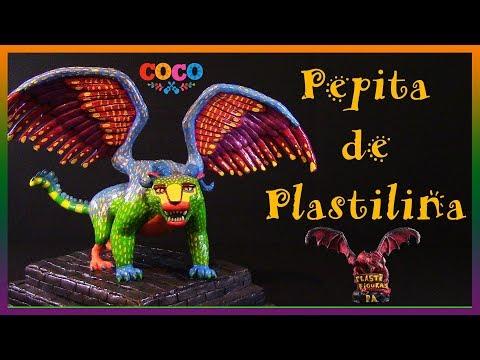 Como Hacer a Pepita de Plastilina (Coco)/ How to Make Pepita with Clay