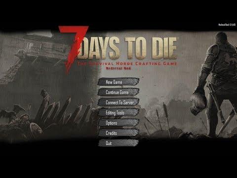 Medieval In 7 Days to Die? | First look Livestream