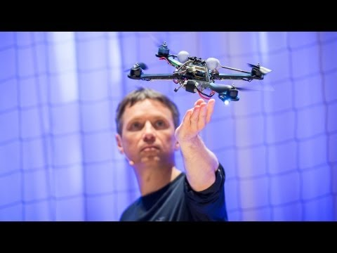 watch The astounding athletic power of quadcopters | Raffaello D'Andrea