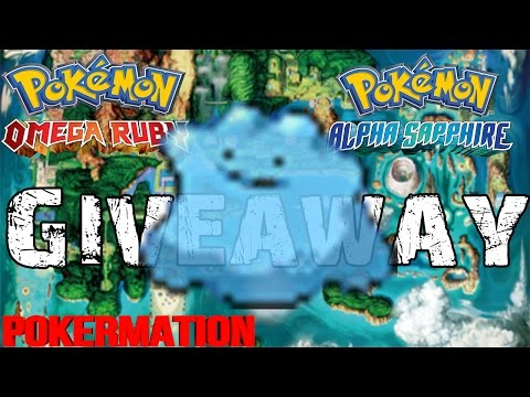 Pokémon Omega Ruby & Alpha Sapphire Shiny Ditto Adamant Max IV With EverStone Giveaway