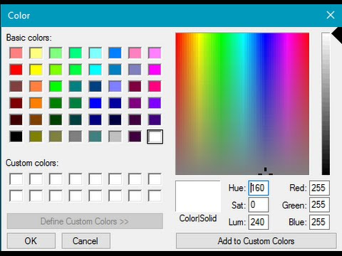 how to fix the the color picker design in Adobe Photoshop CC