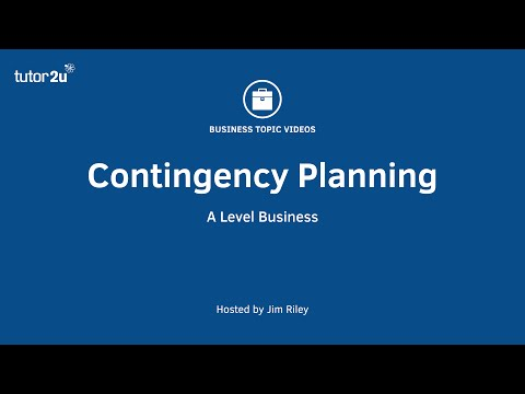 Business Strategy: Contingency Planning