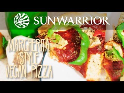 Margherita-Style Vegan Pizza Recipe